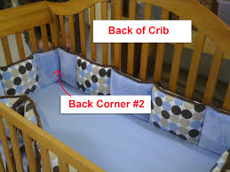 Baby Crib Bumpers How To Properly Install A Crib Bumper Carousel Designs Blog