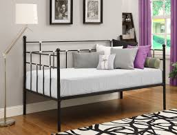 dhp furniture hayley metal daybed black