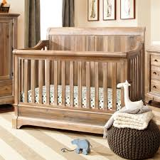 bertini pembrooke 4 in 1 convertible crib natural rustic baby