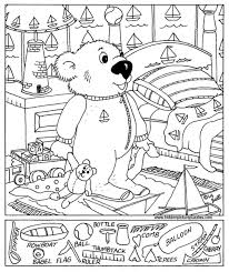 christmas hidden pictures printables happy holidays