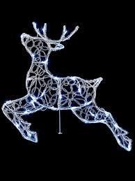 56cm light up reindeer outdoor decoration garden led