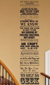 in this house we do geek v7 customizable wall decal fandom