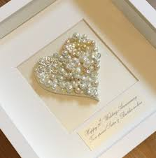 anniversary presents wedding ideas wedding ideas personalised pearl anniversary gift
