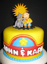 caillou cake topper karl s caillou birthday cake