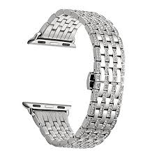 bracelet diamond watches images Kartice for apple watch series 3 band 38mm alloy jpg