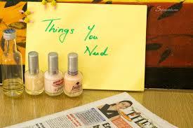 diy newspaper nail art style a pastiche