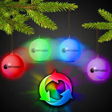 led ornament light up novelties