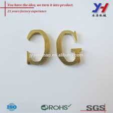 lettre decorative metal oem odm personnalisé beau décoratif en métal alphabet lettres