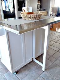 installing kitchen island how we added legs to our kitchen island sweet parrish place