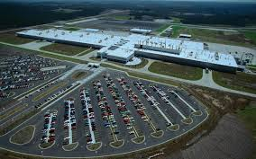 ferrari factory sky view mercedes c class production begins tuscaloosa plant motor trend wot