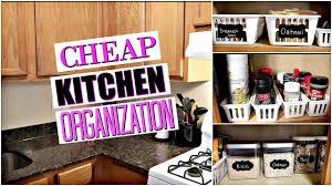 walmart u0026 dollar tree kitchen organization no pantry youtube