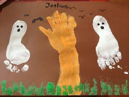 halloween crafts for preschool halloween painting made with my two year old son my own craft