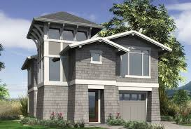 view grabbing narrow lot design plan 22165 the parkridge is a