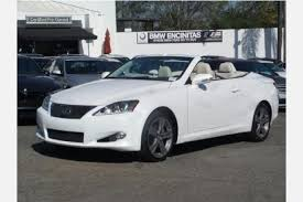 lexus is 250 convertible used for sale used lexus is 250 c for sale in escondido ca edmunds