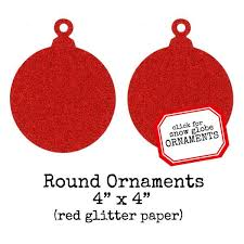 Red Glitter Christmas Decorations by Christmas Chipboard Shapes U0026 Ornaments U2013 Red Lead