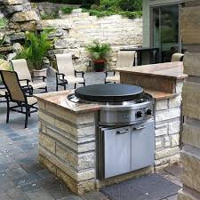 Outdoor Flat Grill Cooktop Evo 30