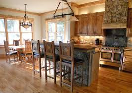 refined mountain bar stool reclaimed barn wood lodge