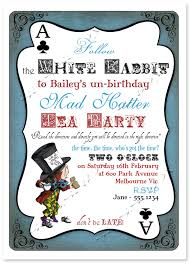 mad hatter tea party invitations templates tea party invitation