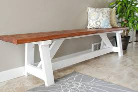 Entrance Hall Bench 15 Diy Entryway Bench Projects Decorating Your Small Space