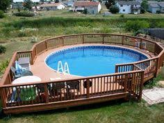 above ground pool deck kits 10 awesome above ground pool deck