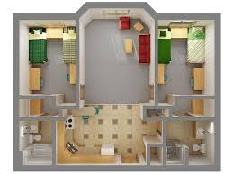 dorm room floor plans niskanen hall residence life ndsu