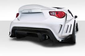 subaru brz body kit 13 15 scion frs vr s duraflex rear body kit bumper 112650 ebay