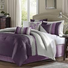 Free Bed Sets Park Amherst 7 Comforter Set Purple Free