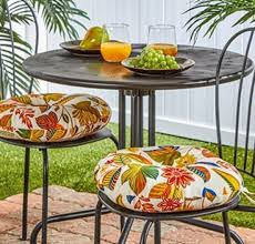 Outdoor Bistro Chair Cushions Set Of 2 Indoor Outdoor Bistro Chair Cushions Seat Patio