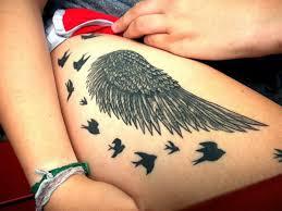 20 eye refreshing wings tattoos sheideas