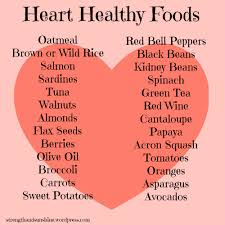 11 best images of heart healthy diet food chart heart healthy