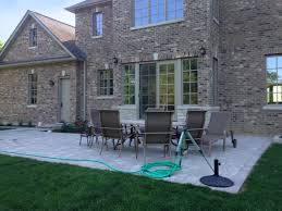 New Home Construction Steps by New Construction In Northbrook Landscaping And Hardscaping Brick