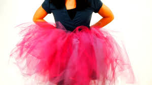 how to cut the tulle for a no sew tutu no sew crafts youtube