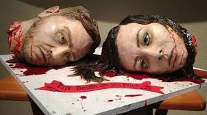 most creepy cakes that are eerily realistic scary cakes ever