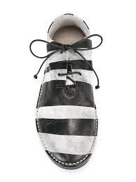 slaton texas marsell howell marsèll striped oxfords bianco base