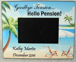 goodbye tension hello pension personalized goodbye tension hello pension retirement frame gift
