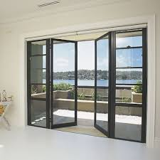 Used Patio Doors Modern Door With Solid Steel Thin Frame For Easily