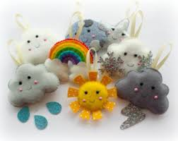 Easter Decorations Sewing by Make Your Own Felt Easter Collection Kit Easter Decorations