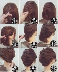 how to braid short hair step by step 20 easy short hair braids hairstylesmill