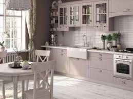 kitchen shaker style kitchen cabinets chrome pendant light white