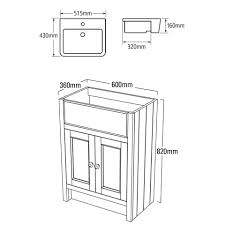 Cloakroom Furniture Vanity Units Roper Rhodes Hampton 1600mm Basin Storage Toilet Unit With