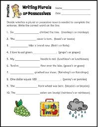 best 25 possessive nouns worksheets ideas on pinterest
