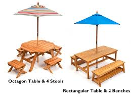 Wooden Patio Table And Chairs 50 Outside Table Kidkraft Outdoor Table And Bench Set With