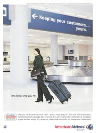 american airlines advertisement gallery