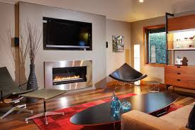 Arts And Crafts Living Room Ideas - modern gas fireplace inserts living room contemporary with arts