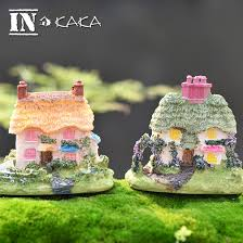 wholesale western home decor cm resin western house cottages