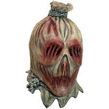 Scarecrow Mask Screamcrow Horror Costume Mask U2013 Scary Scarecrow Mask