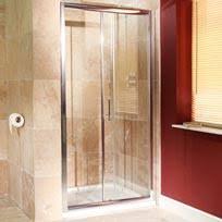 aquafloe iris 8mm 1500 sliding shower door