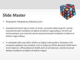 currency cube u2013 powerpoint template slidesbase