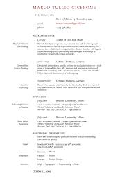 Latex Template Resume Resume Templates In Latex So Up Until Now You Thought Getting