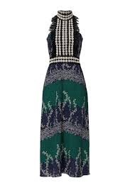 ivy printed trellis dress by yigal azrouël for 185 215 rent